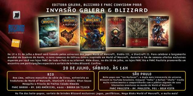 convite_Fim_de_Semana_Galera_Blizzard_na_FNAC